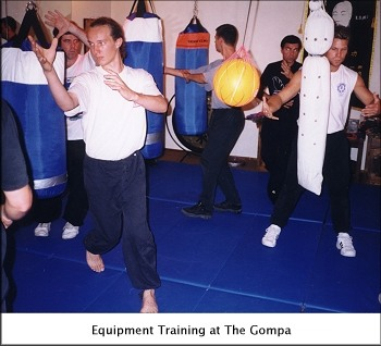 Equipment Training at The Gompa