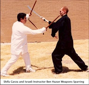Shifu Garza and Ben Hazan
