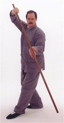 Jiulong Baguazhang Staff.